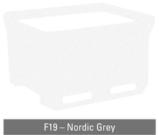 Nordic grey insulated container